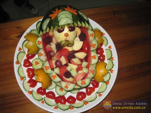 Fruit Platter Social Night Omeida Chinese Academy